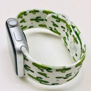 38/40mm Dual Fresh Cactus Print Apple Watch Band